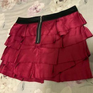 Ruffles Mini Skirt